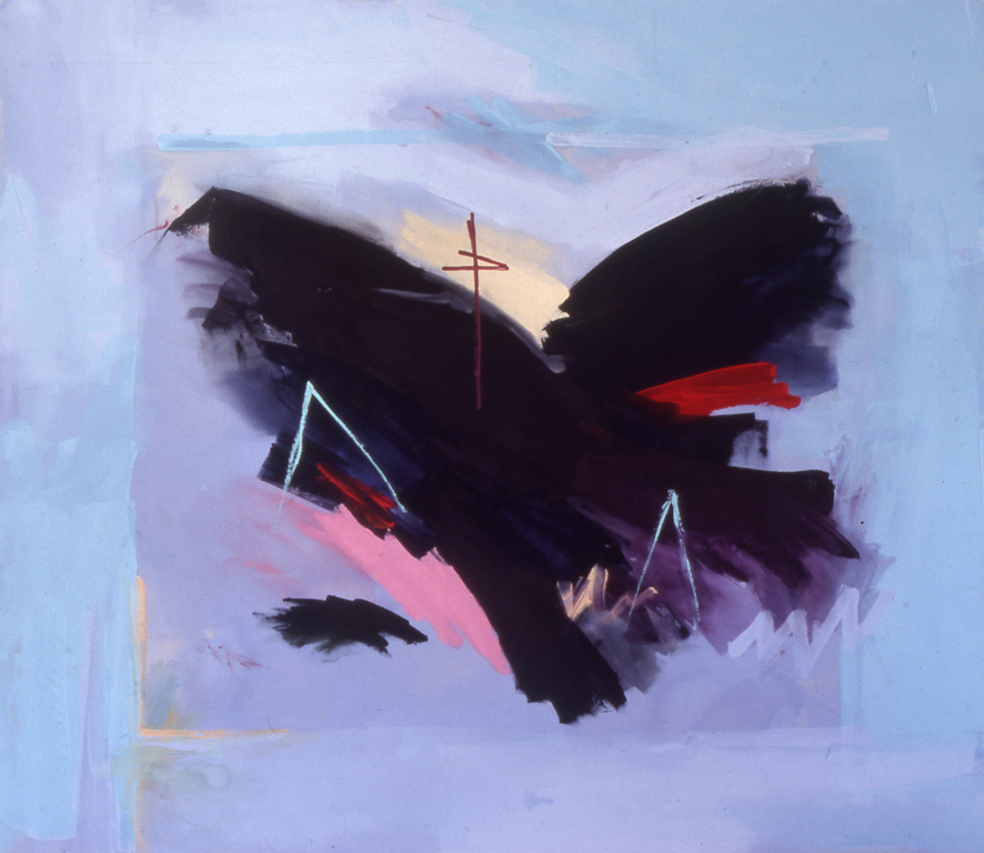 "Georgia (1977), acrylic/canvas, 78"" x 90"""