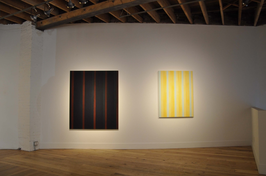 (From left) The Dilemma (2012) and Breathing Space for Agnes (2012)