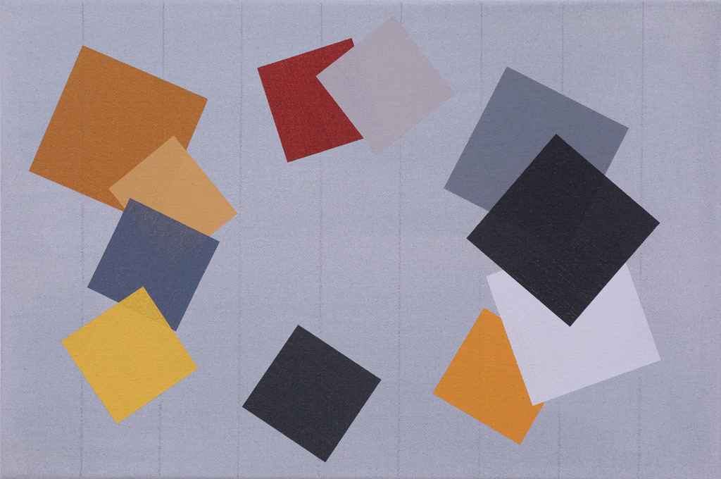 September/October #2 (2014), acrylic on canvas, 12