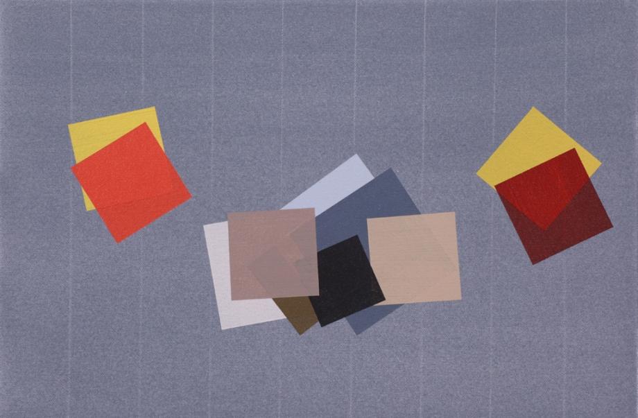 "September/October #3 (2014), acrylic on canvas, 12"" x 18"""