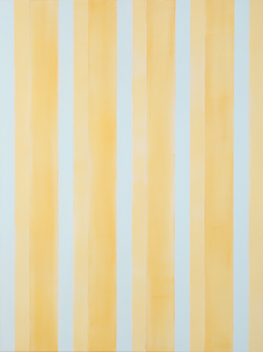 "Breathing Space for Agnes (2012), acrylic on canvas, 48"" x 36"""
