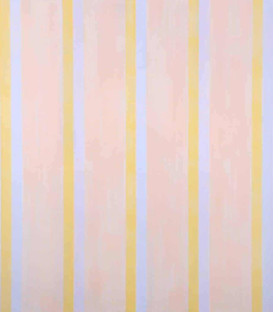 "Everything, Again (2012), acrylic on canvas, 90"" x 78"""